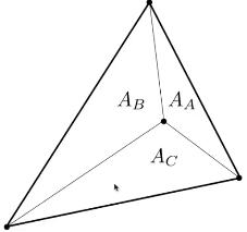 中心坐标计算示意图